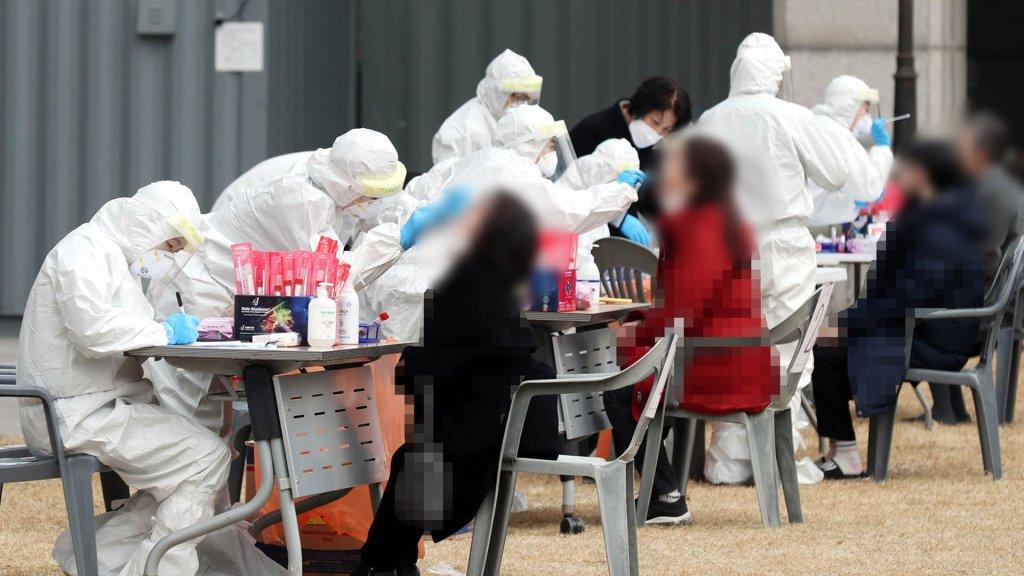 南韓新增672例新冠確診病例 累計114115例