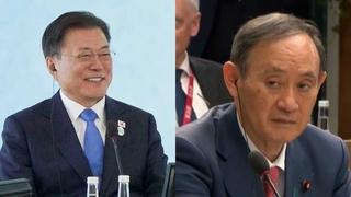 文在寅在G7峰會分別同美日領導人簡短會面