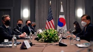 韓美外長在英會晤商討同盟和無核化事宜