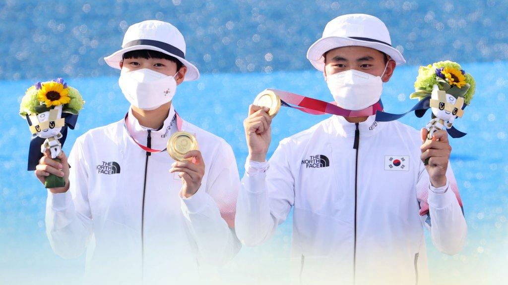 韓射箭金濟德/安山奪東京奧運混團金牌