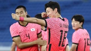 東京奧運南韓男足6-0大勝宏都拉斯挺進八強