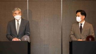 韓美對朝代表共商對朝問題合作方案