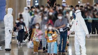 第二批13名阿富汗人安全抵韓