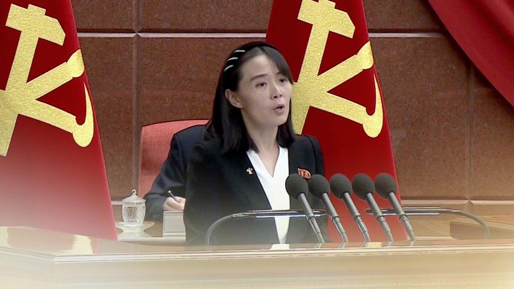 金與正譴責文在寅涉朝鮮射彈發言