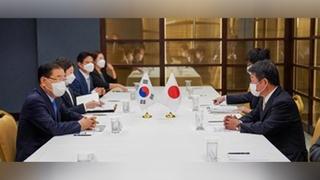 韓日外長在紐約舉行會談