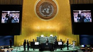 防彈少年團:難以置信在聯合國表演
