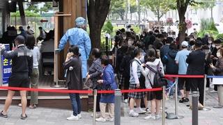 南韓新增1050例新冠確診病例 累計343445例