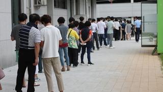 南韓新增1073例新冠確診病例 累計344518例