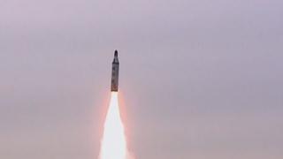 朝鮮稱從潛艇試射新型潛射彈道導彈