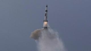 朝鮮稱潛射彈道導彈試驗不針對韓美