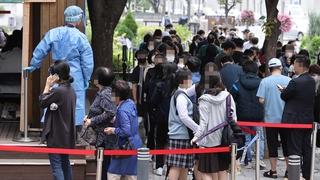 南韓新增2111例新冠確診病例 累計358412例