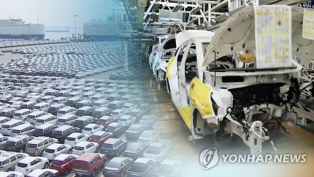 南韓2020年汽車產量重回全球第5