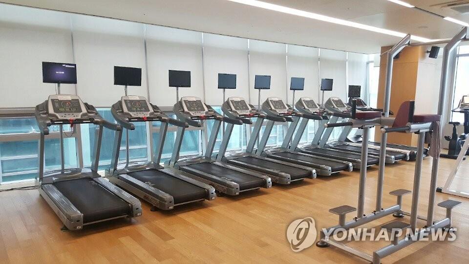 資料圖片:健身房 韓聯社