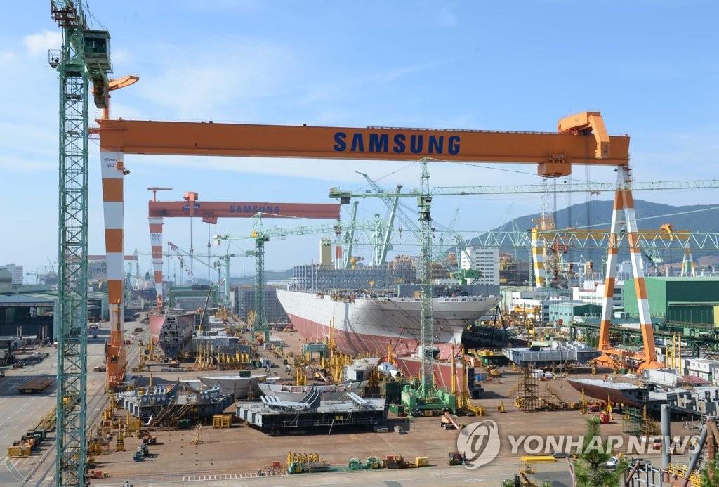 韓7月造船廠訂單量排世界第一