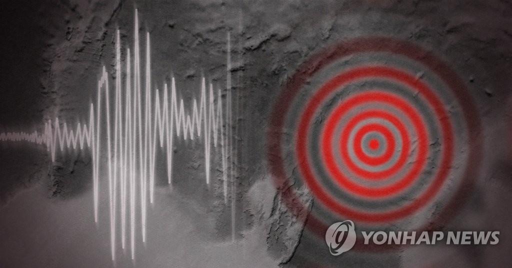 快訊:朝鮮江原道平康西北部發生3.8級地震