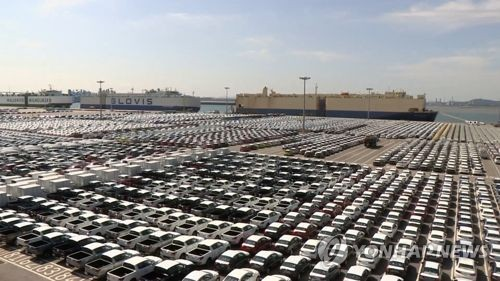 南韓汽車生產出口雙雙連減三年
