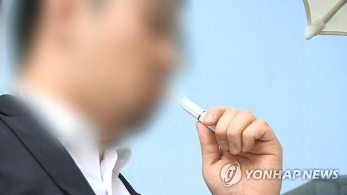 調查:南韓男性煙民大減 電子煙使用率上升