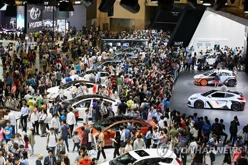 兩年一度釜山車展因疫情取消