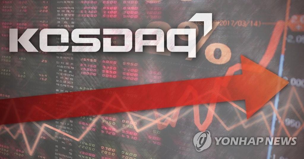 南韓創業板走強。 韓聯社