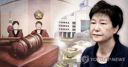 樸槿惠干政受賄案重審獲刑20年被減刑10年