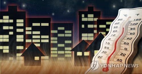 南韓多地高溫不斷 首爾熱帶夜已持續十天