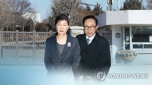 南韓又現兩名前總統同在獄中局面