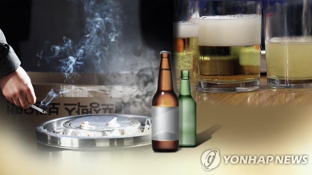 疫情下南韓人吸煙飲酒運動量均減少
