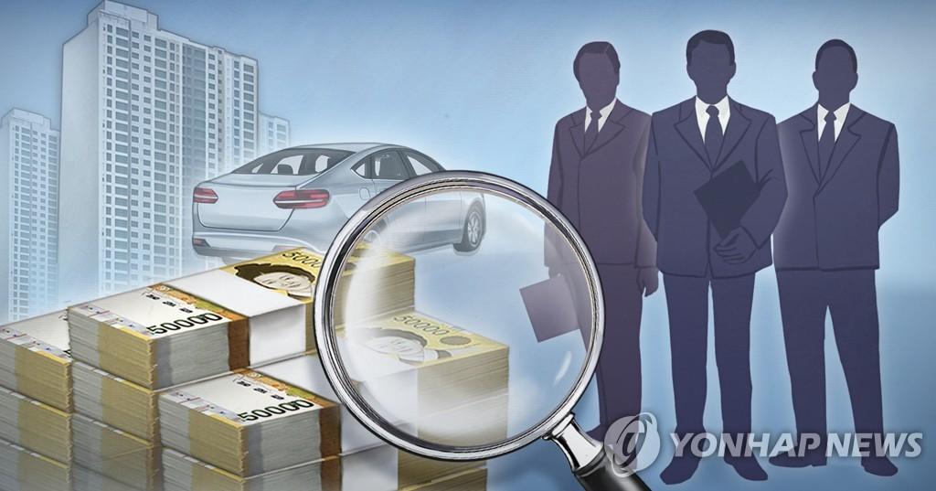 南韓高級公務員平均財產750萬元