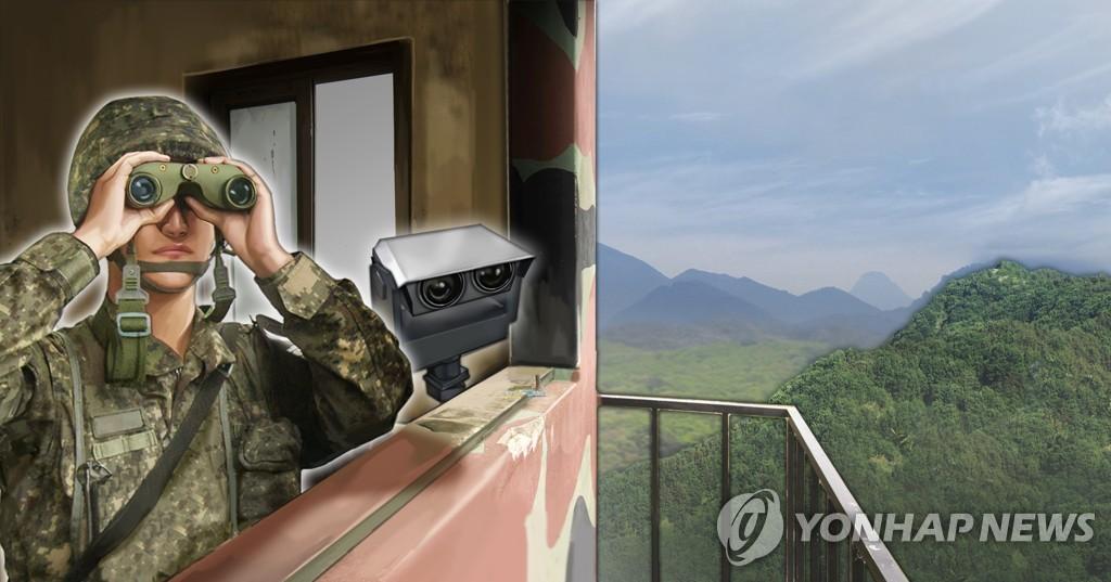 詳訊:一朝鮮人越境南下 或為歸順南韓