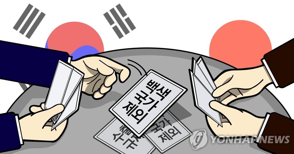 南韓正式將日本移出出口白名單