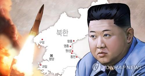 韓聯參:朝鮮射彈是聯合打擊訓練的一環