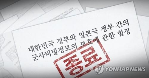 詳訊:南韓正式通知日本終止韓日軍情協定