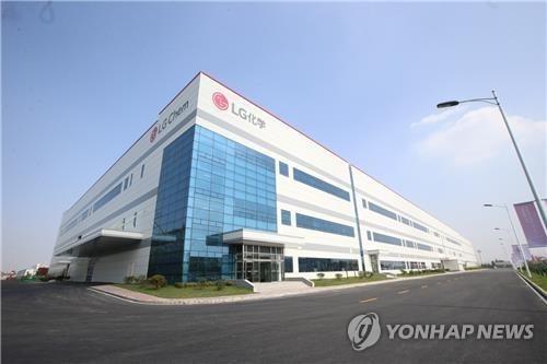 LG化學攜中資在南昌建電池廠
