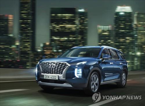現代SUV車Palisade2019年本土銷量破5萬