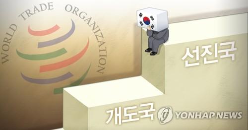 簡訊:南韓決定放棄在世貿組織的發展中國家地位