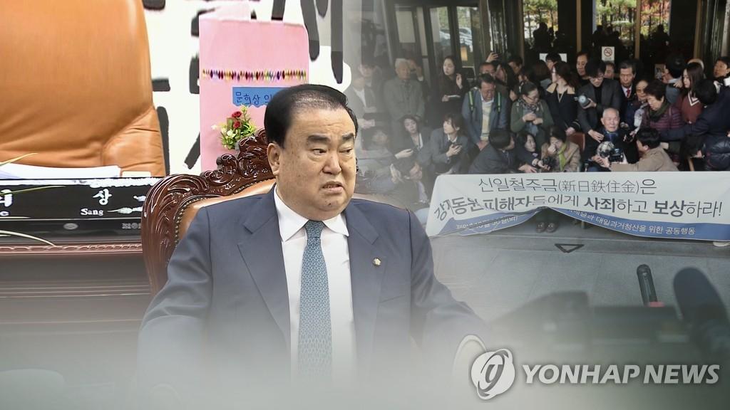 南韓會議長對日索賠法案或不包括慰安婦