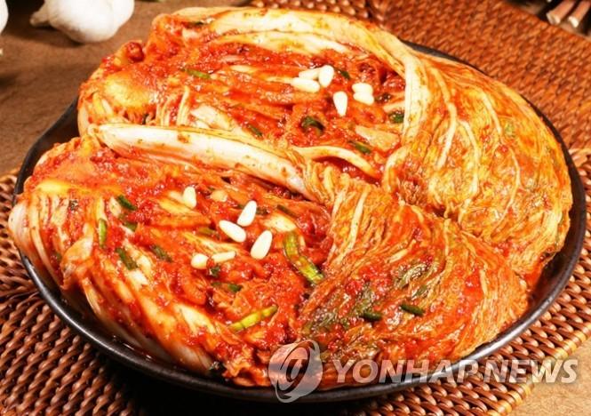 泡菜 韓聯社