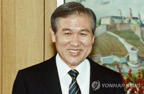 韓前總統盧泰愚臨終遺言公開