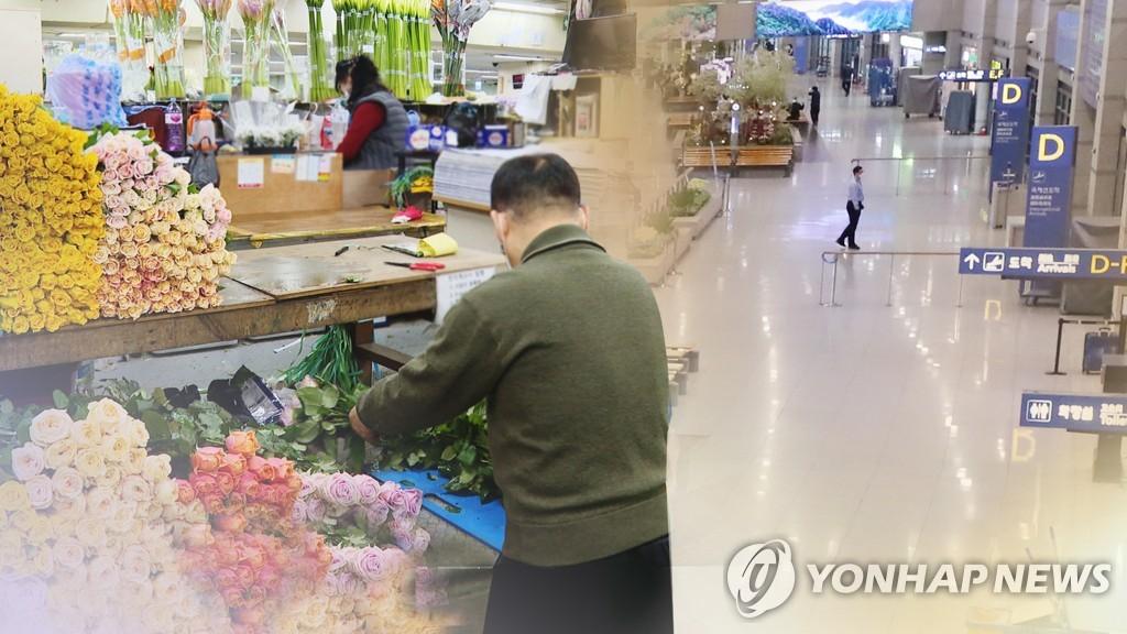 統計:南韓第一季家庭支出受疫情影響減少4.9%