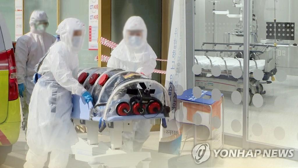 南韓新冠死亡病例連日新增3至5例增勢明顯