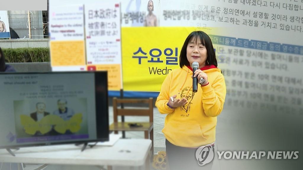 韓候任議員向揭醜慰安婦受害者下跪道歉未獲原諒