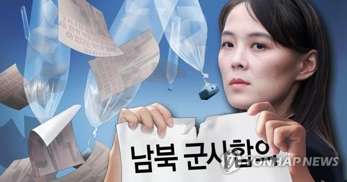 朝鮮勞動黨副部長金與正:已到與韓訣別之際