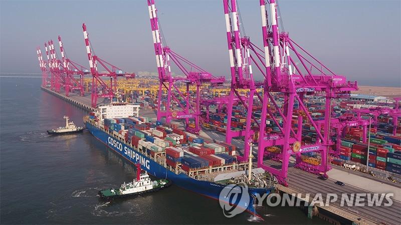 仁川港新開香港東南亞兩條集裝箱航線