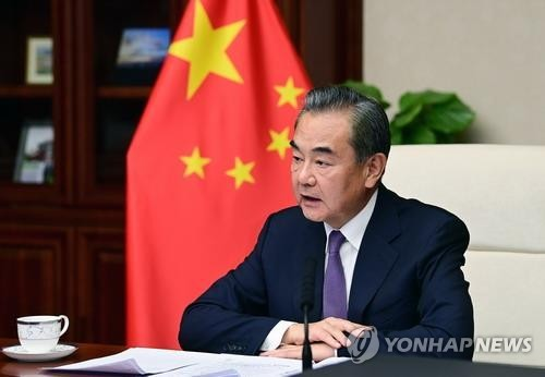 消息:中國外長王毅月底或接連訪問韓日