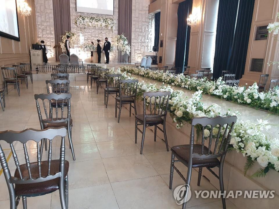 統計:韓1-7月婚姻登記同比減少9.3%創新低
