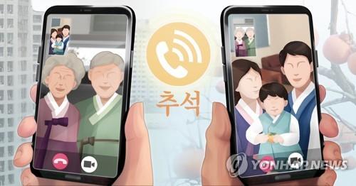 調查:逾六成南韓人計劃只與家人過中秋