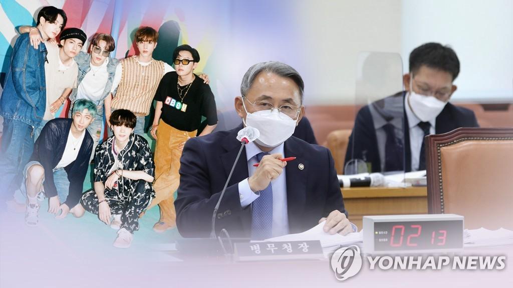 南韓修訂《兵役法》 防彈入伍有望推遲
