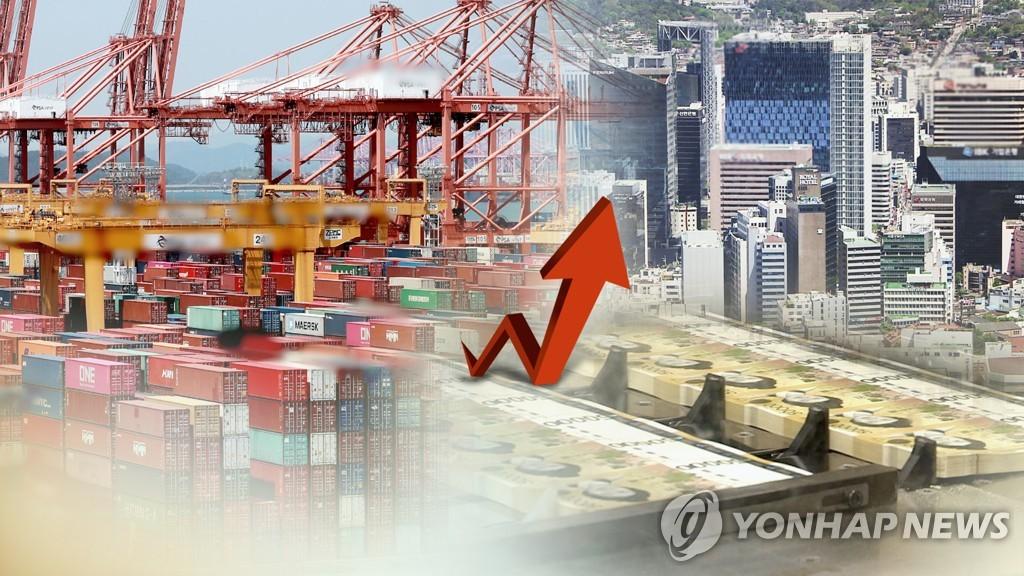 南韓10月前10天出口同比增63.5%