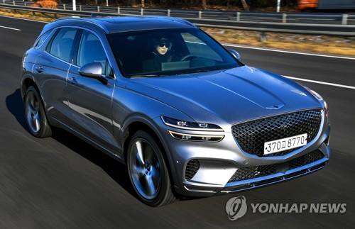 南韓5大整車廠去年SUV銷量突破60萬輛