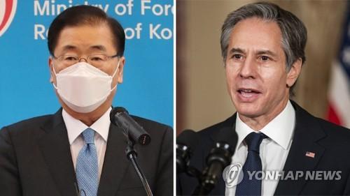 韓美外長通電話討論與朝合作方案